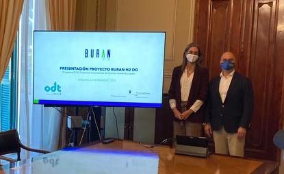 Presentación del proyecto de Hidrógeno Verde en la Autoridad Portuaria de Málaga